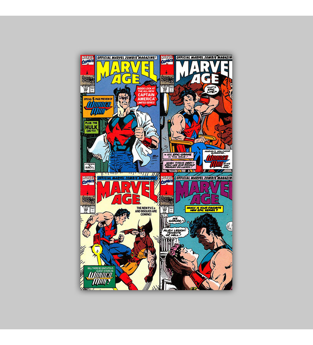 Marvel Age 103 1991