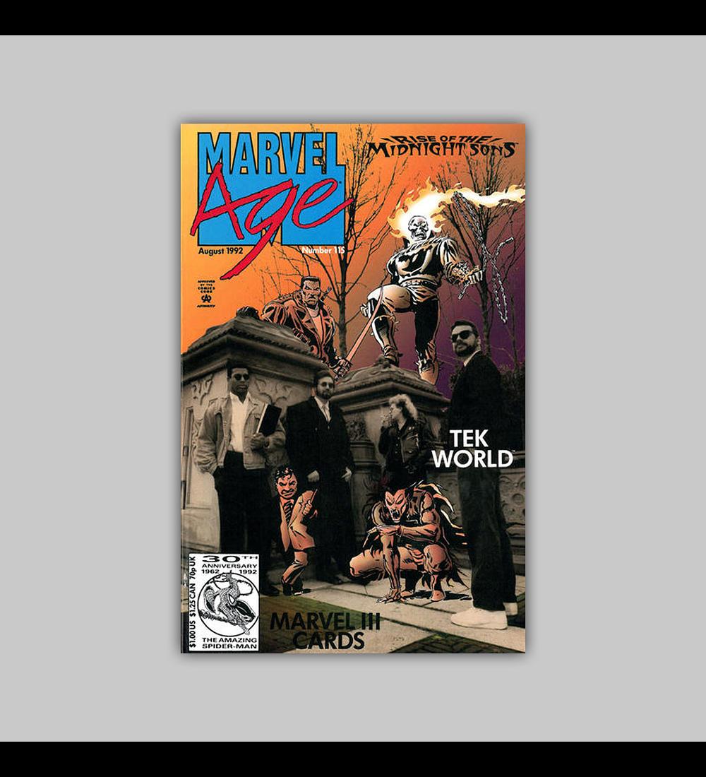 Marvel Age 115 1992