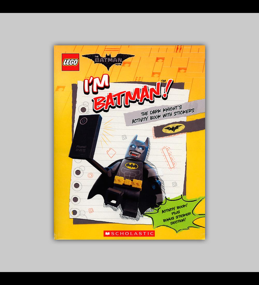 Lego Batman Movie Sticker Activity Book 2017
