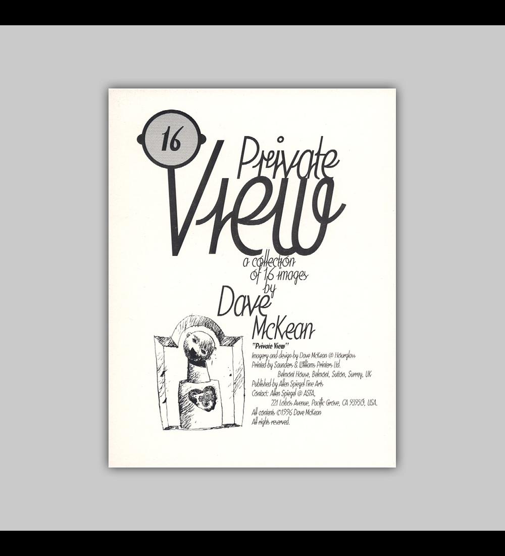 Dave McKean Postcard Set: Private View 1996