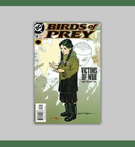 Birds of Prey 18 2000