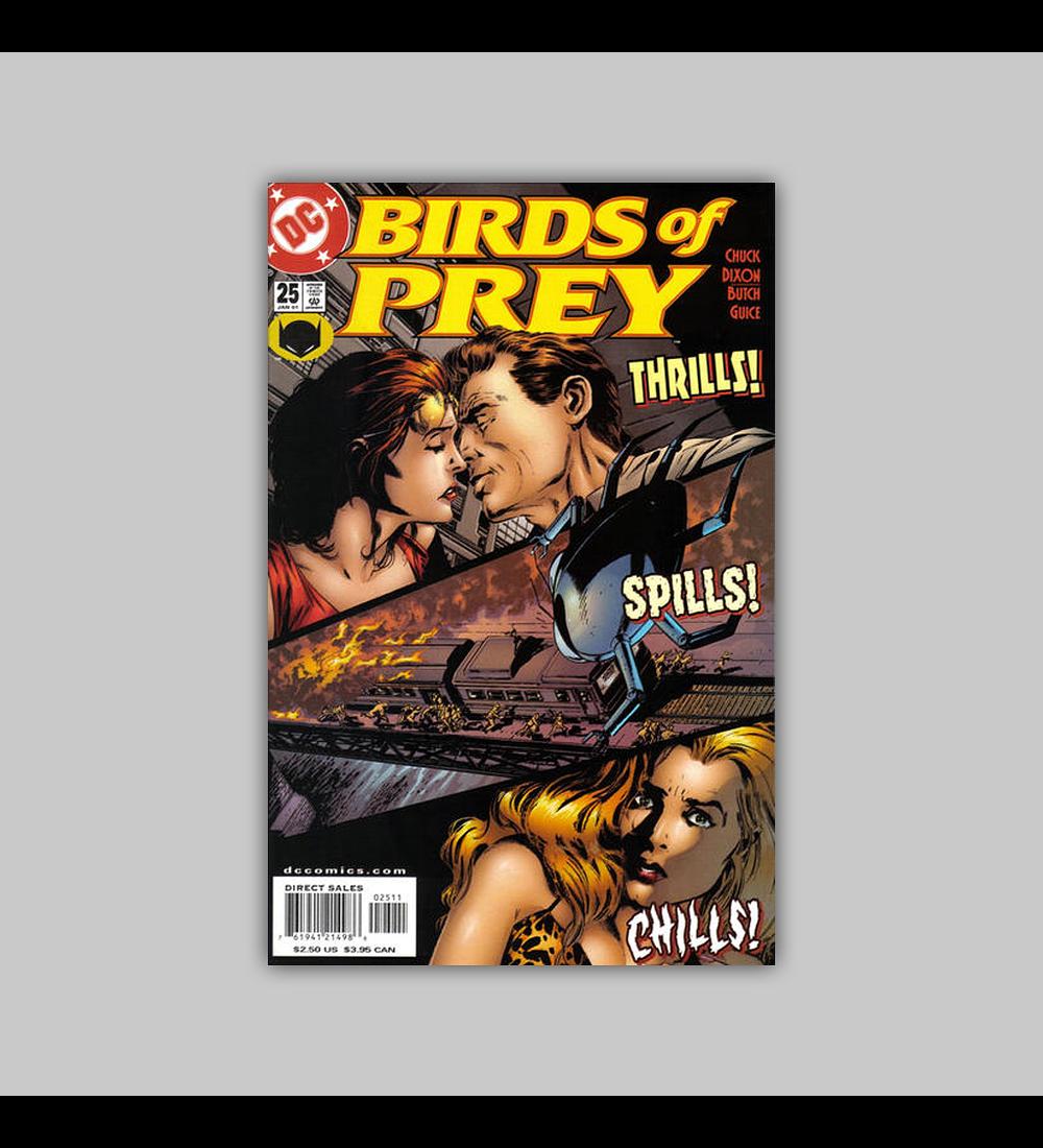 Birds of Prey 25 2001