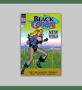 Black Canary 1 1991