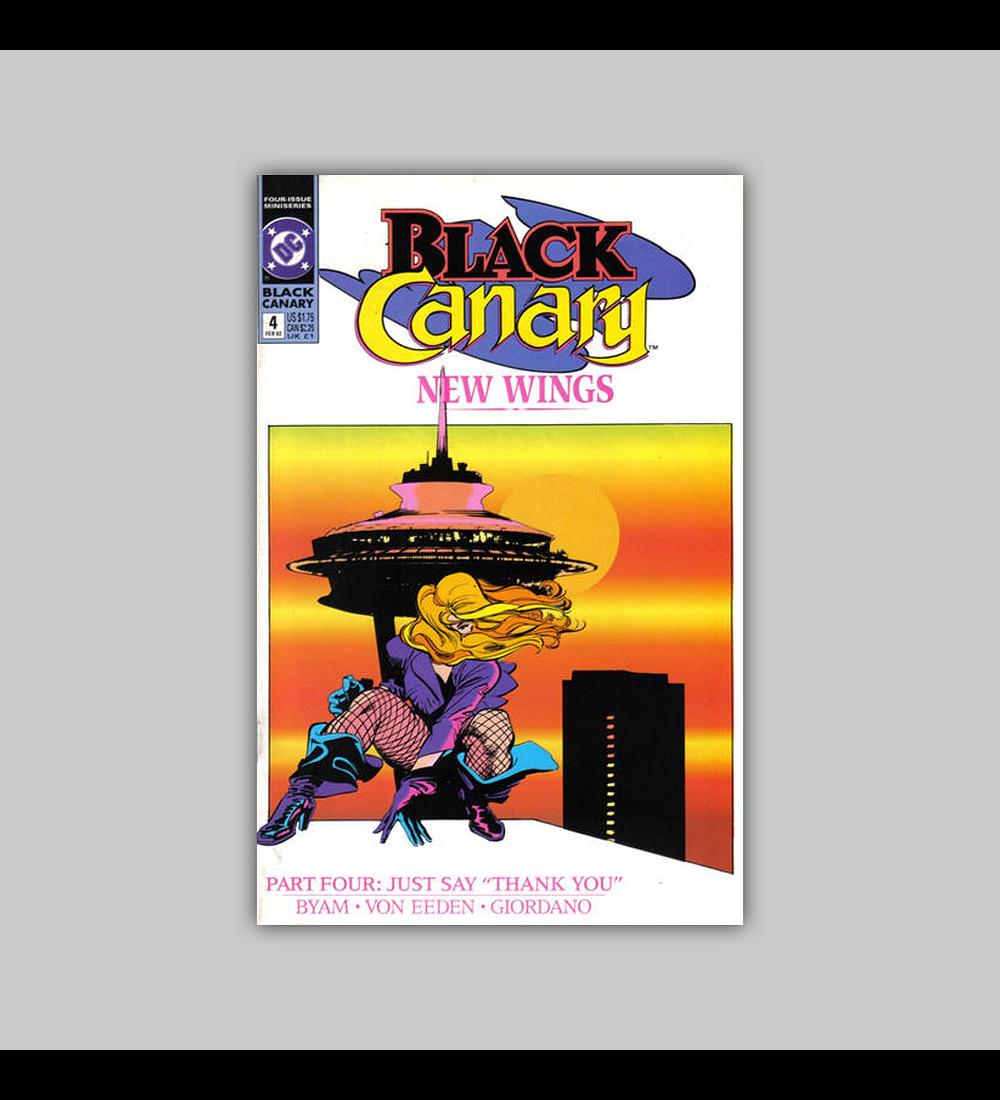 Black Canary 4 1992