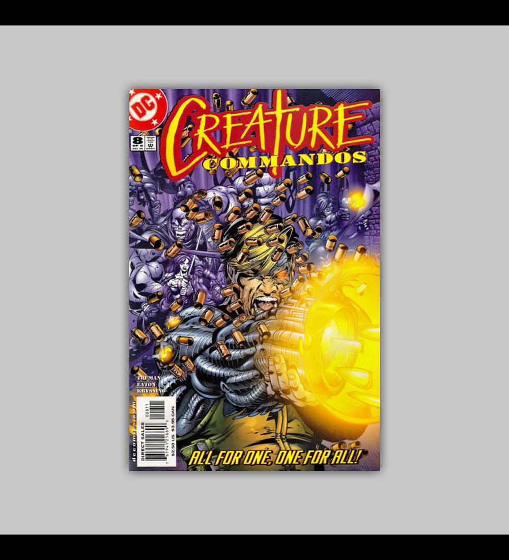 Creature Commandos 8 2000