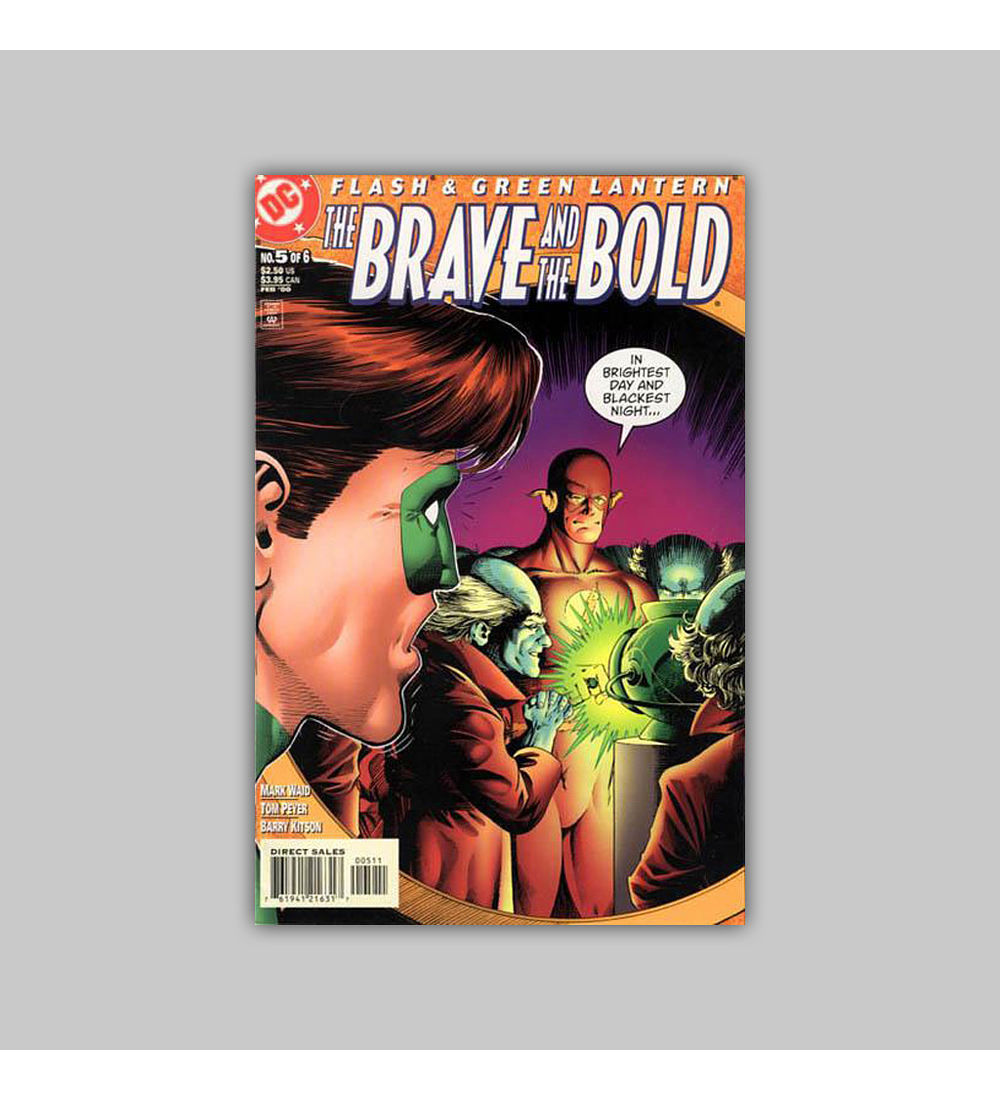 Flash & Green Lantern: The Brave & the Bold (complete limited series) 1999