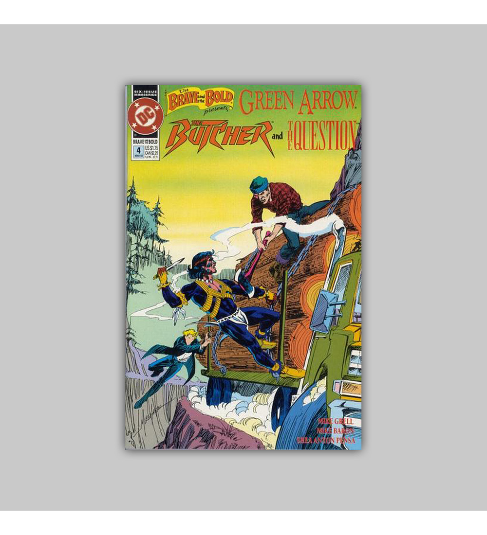 The Brave and the Bold: Green Arrow, The Butcher and The Question (complete limited series) 1992