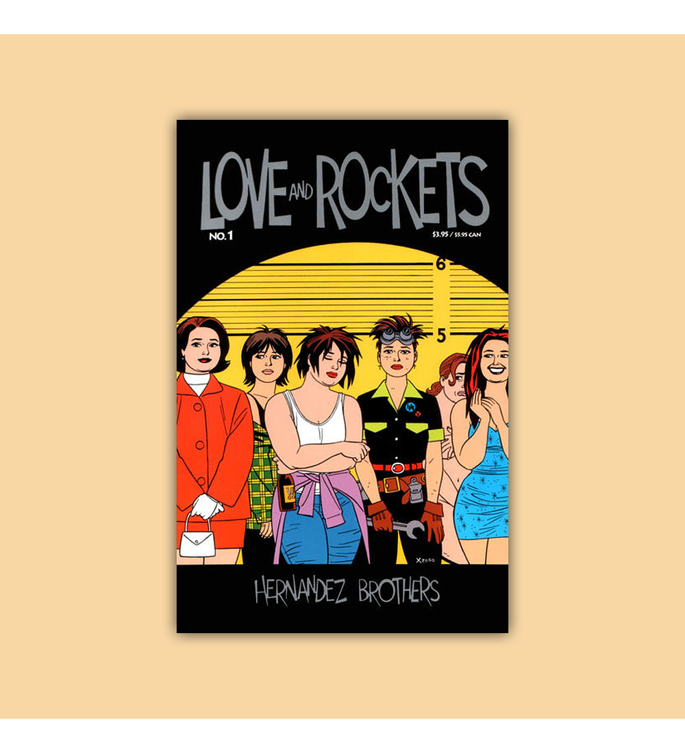 Love & Rockets (Vol. 2) 1 2001