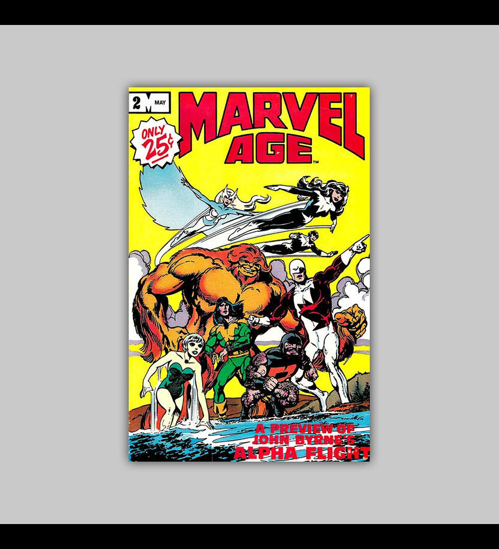 Marvel Age 2 1983