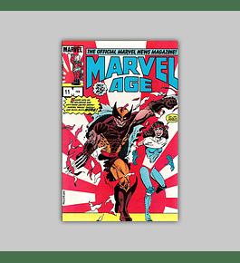 Marvel Age 11 1983