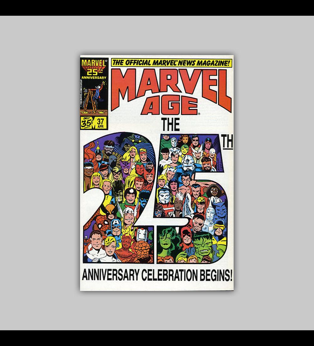 Marvel Age 37 1986