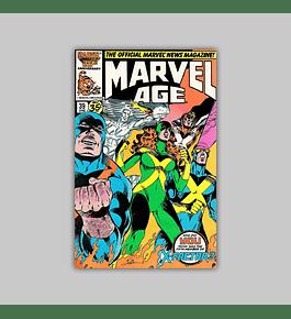 Marvel Age 39 1986