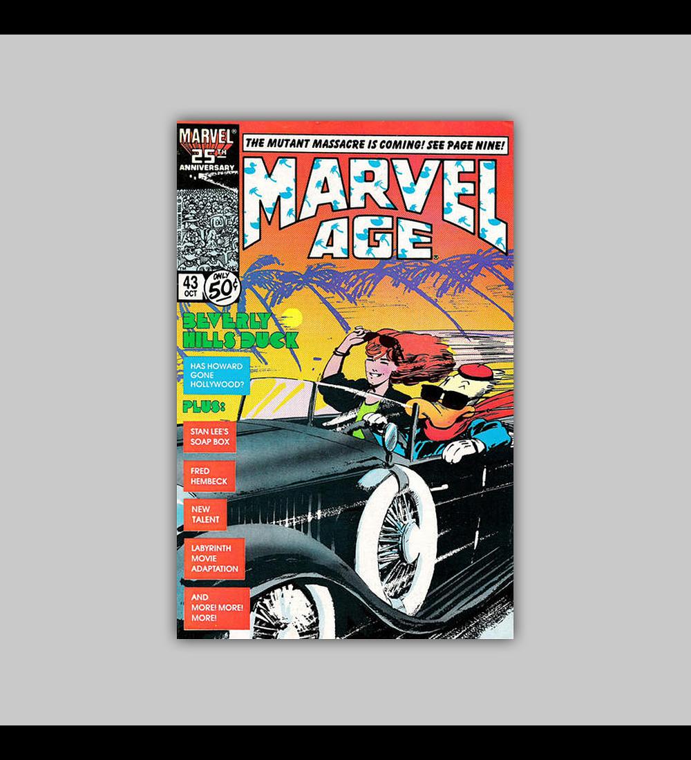 Marvel Age 43 1986