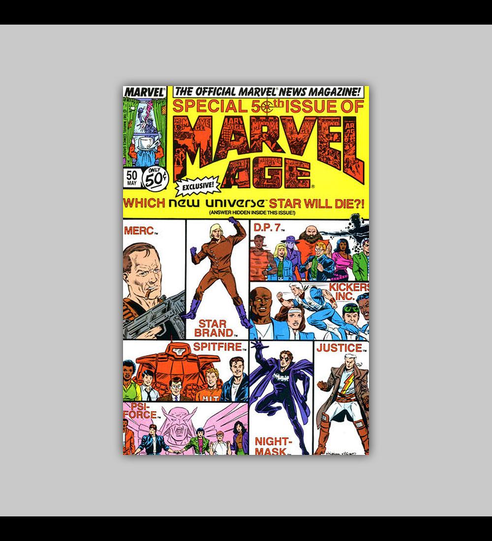 Marvel Age 50 1987