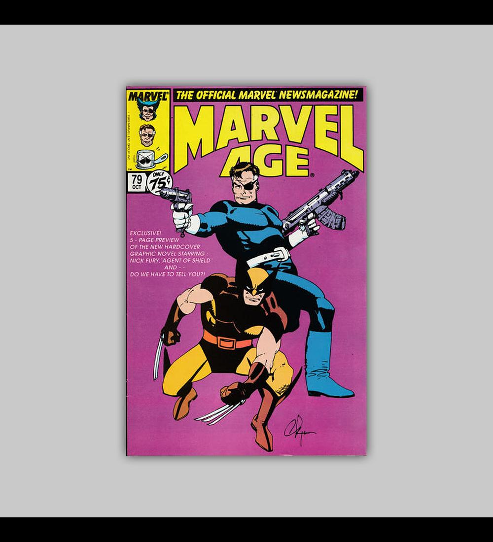 Marvel Age 79 1989