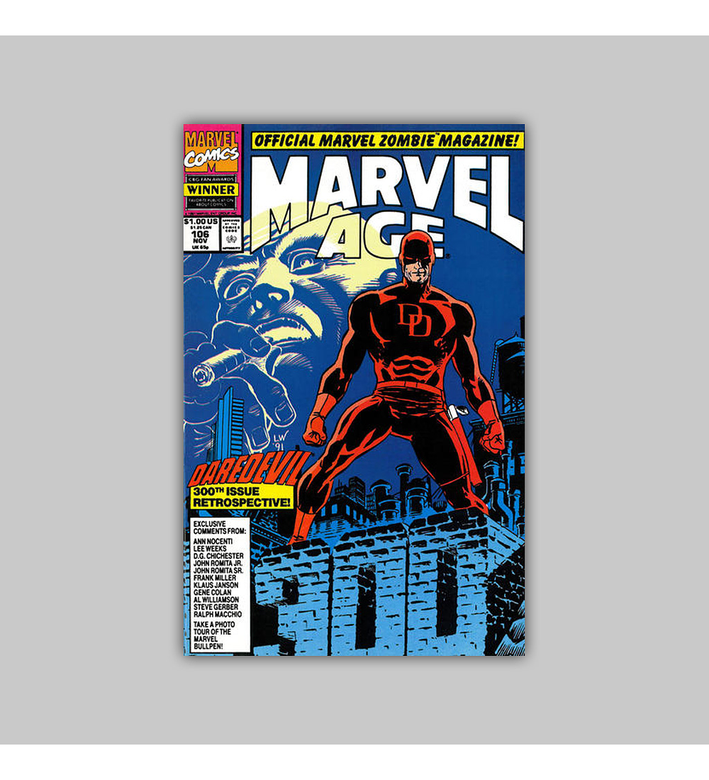 Marvel Age 106 1991
