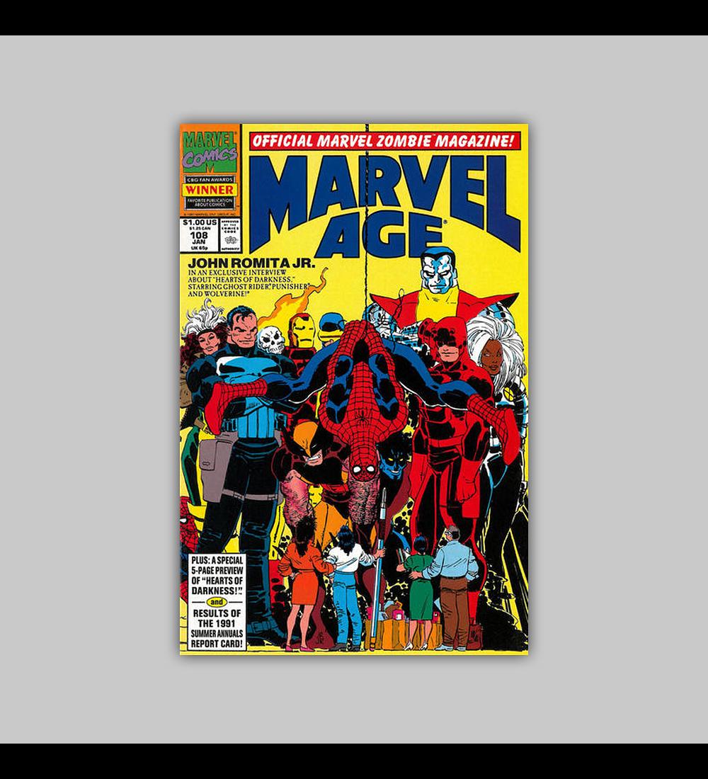 Marvel Age 108 1992