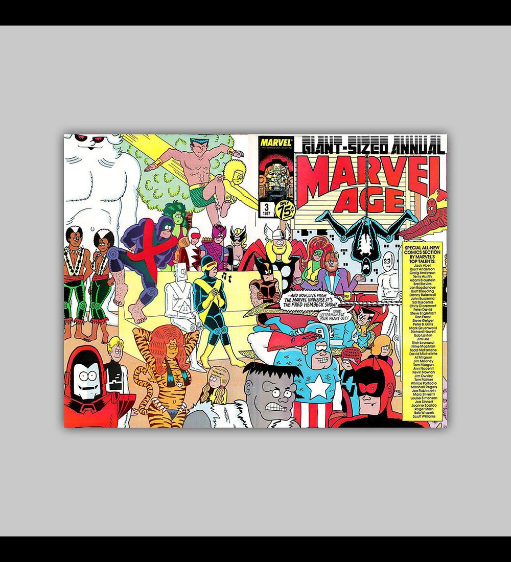 Marvel Age Annual 3 1987