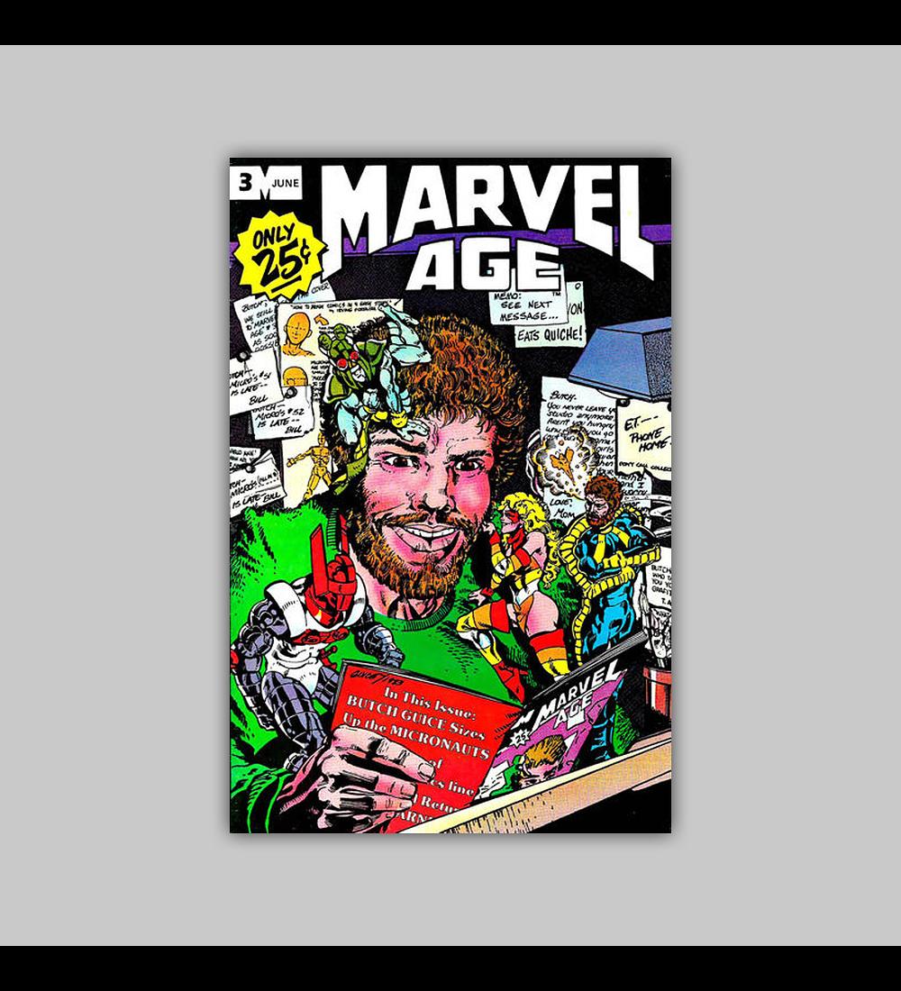 Marvel Age 3 1983