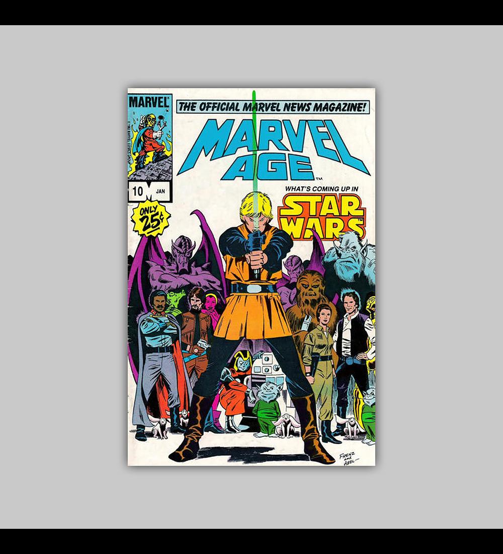 Marvel Age 10 1983