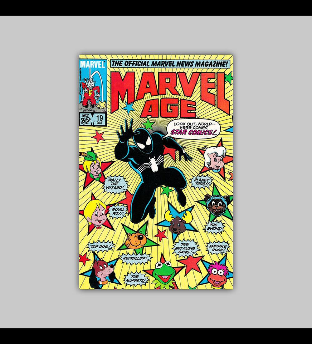 Marvel Age 19 1984