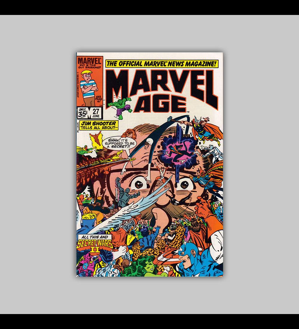 Marvel Age 27 1985