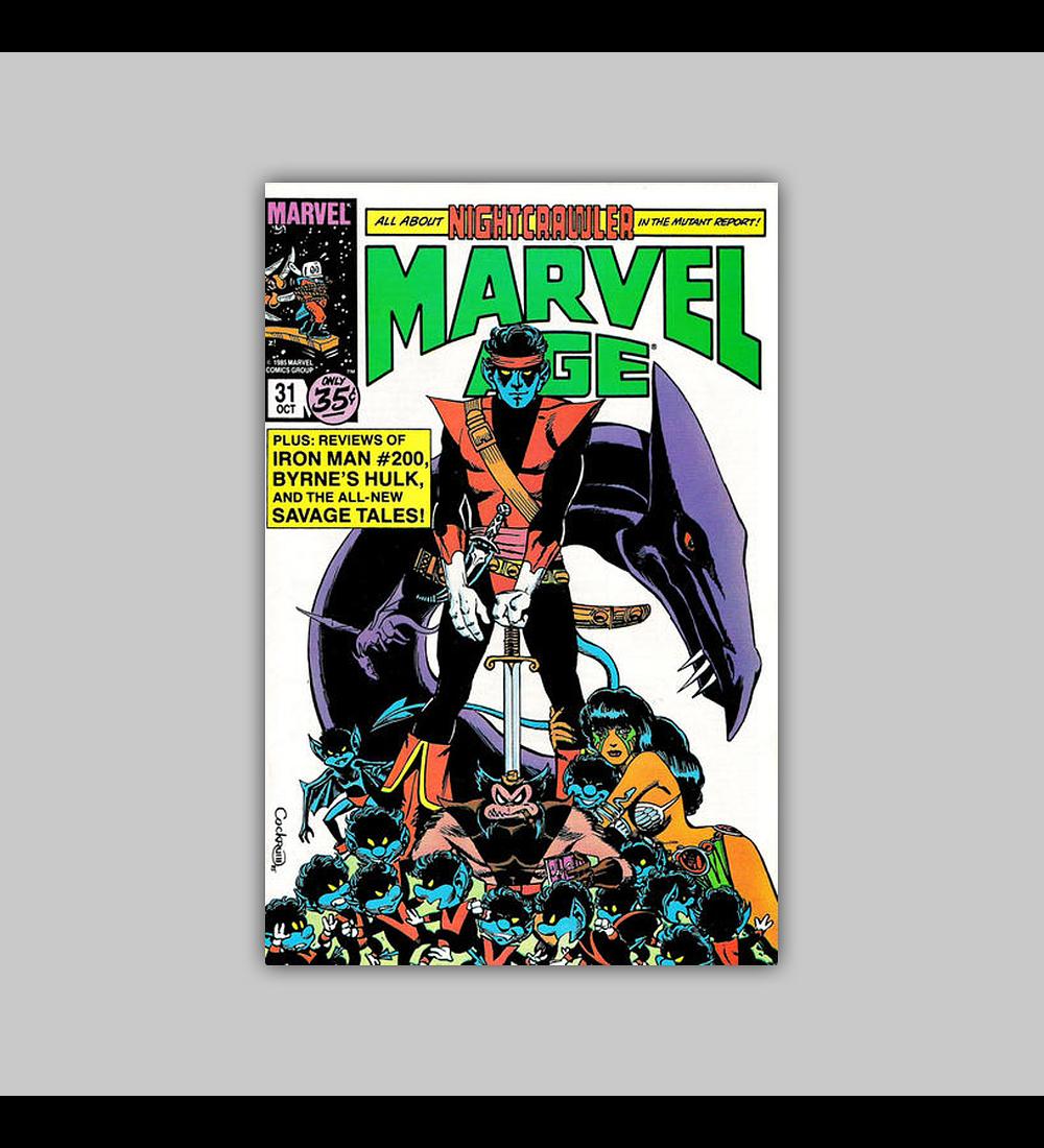 Marvel Age 31 1985