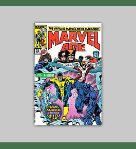 Marvel Age 33 1985
