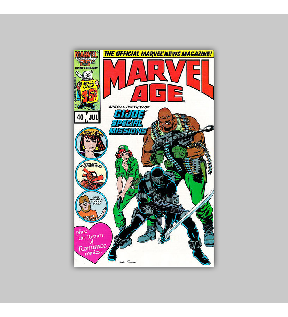 Marvel Age 40 VF (8.0) 1986