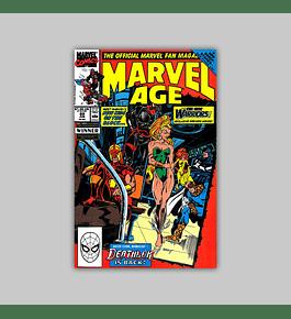 Marvel Age 89 1990
