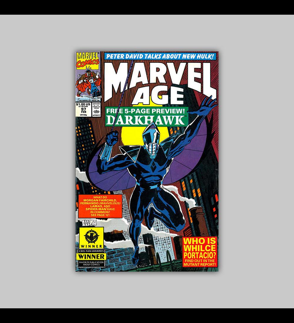 Marvel Age 97 1991