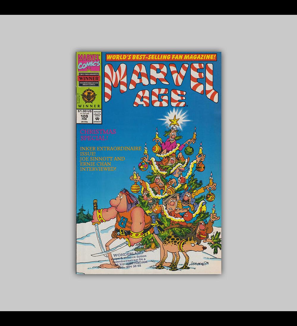 Marvel Age 109 1992