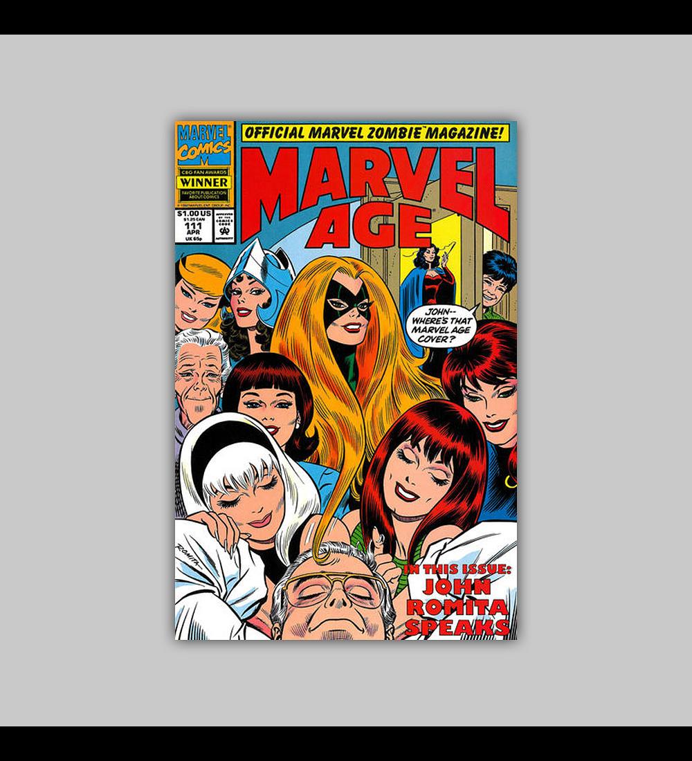 Marvel Age 111 1992