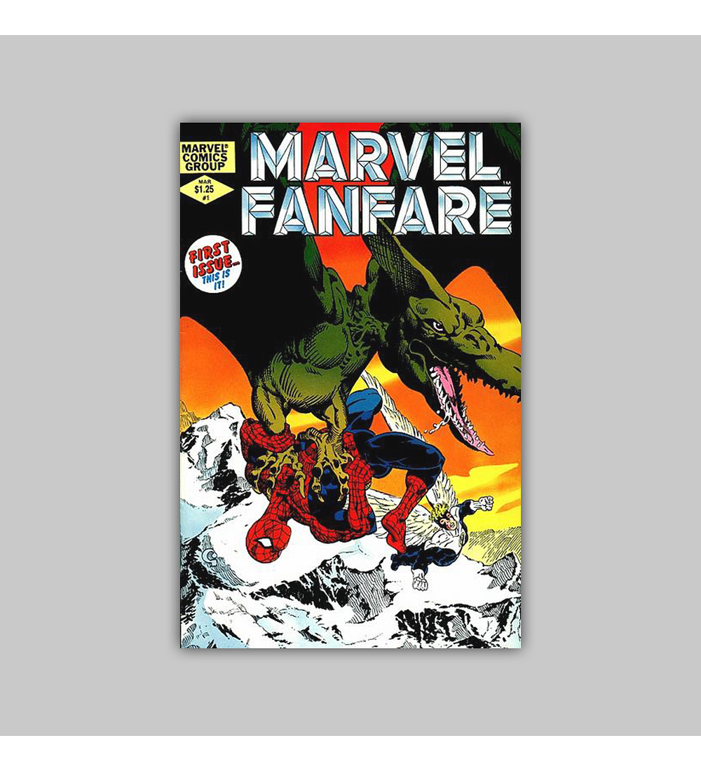Marvel Fanfare 1 1982