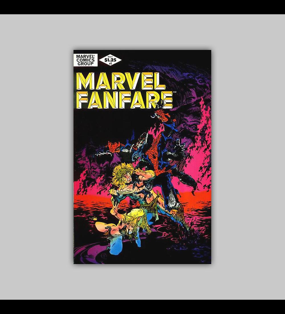 Marvel Fanfare 2 1982