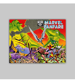 Marvel Fanfare 3 1982