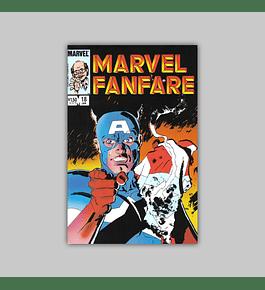 Marvel Fanfare 18 VF (8.0) 1985