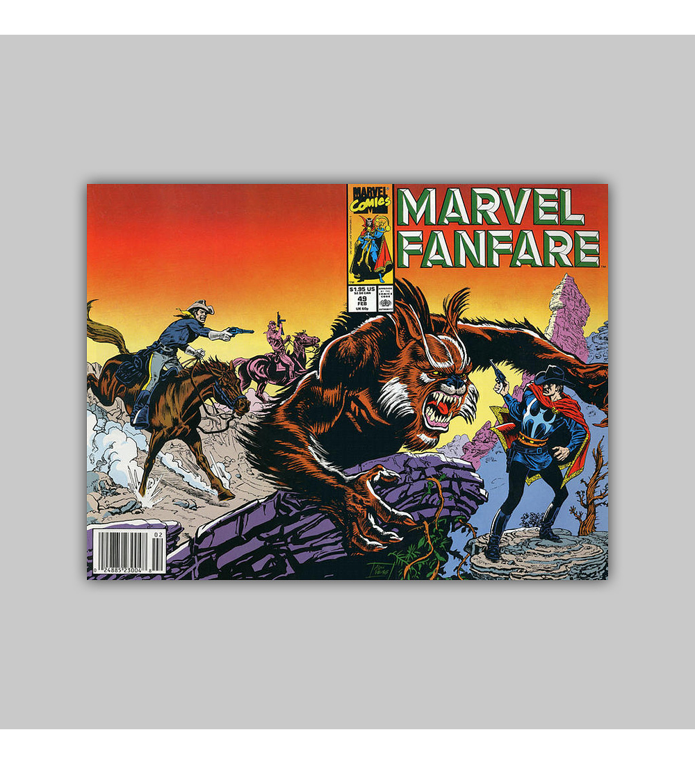 Marvel Fanfare 49 1990