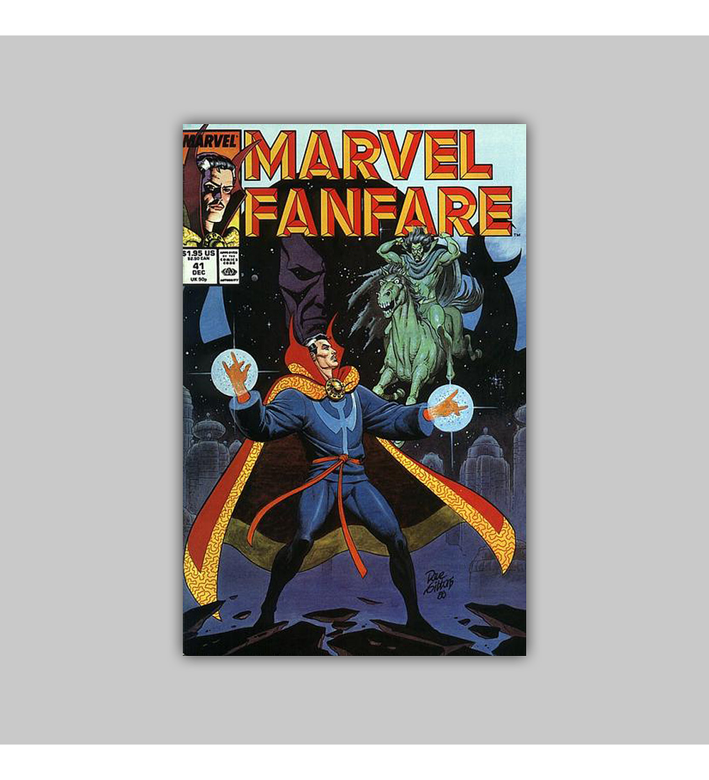 Marvel Fanfare 41 1988