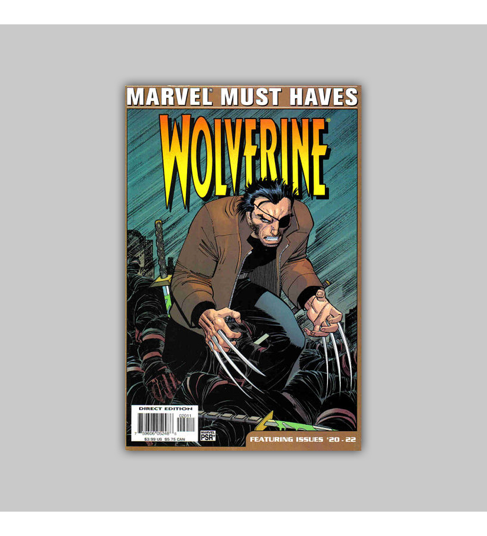 Marvel Must Haves: Wolverine 20-22 2005