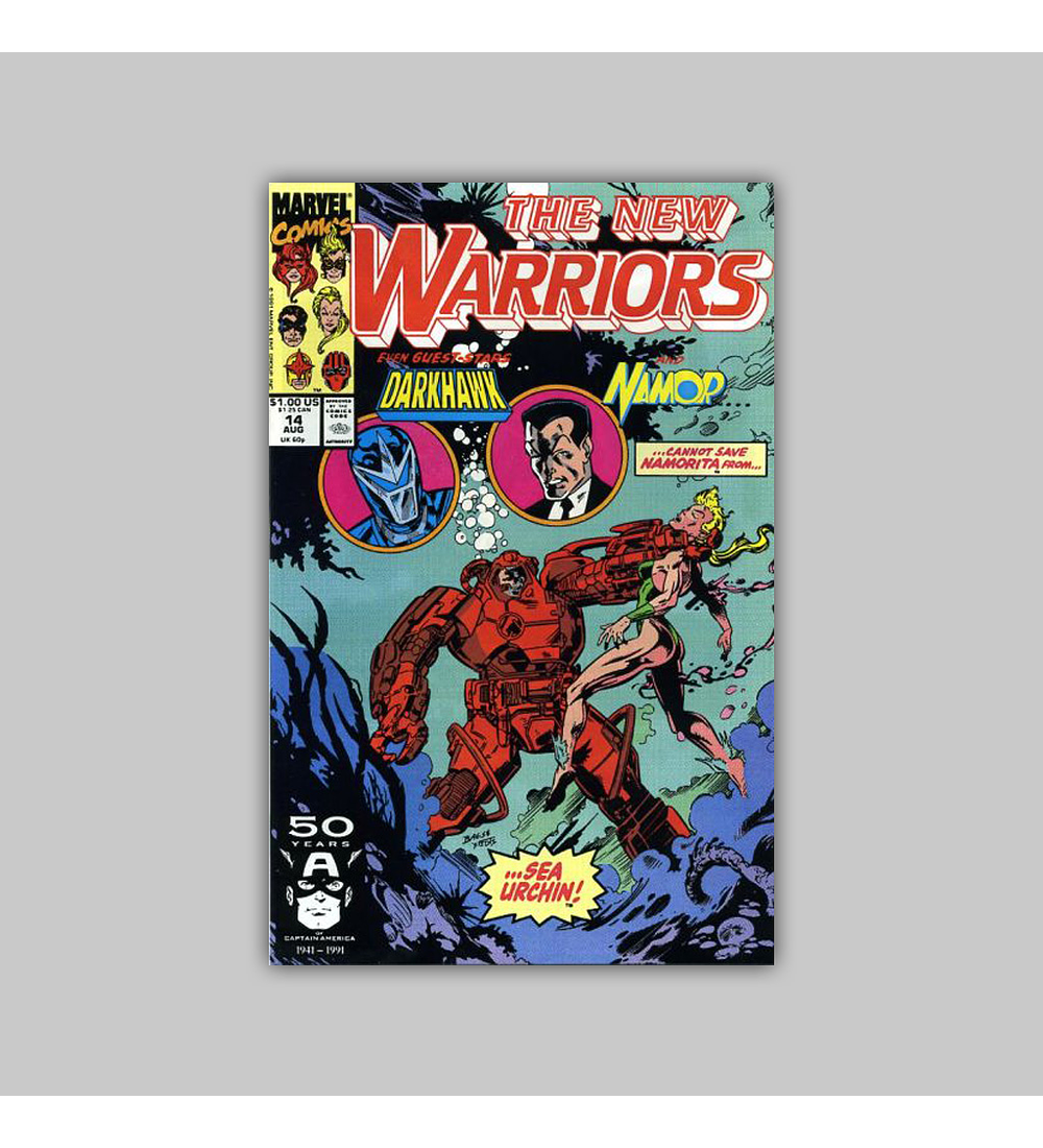 New Warriors 14 1991
