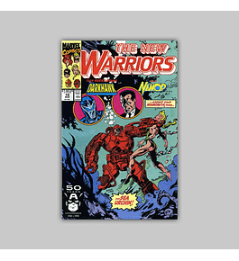 New Warriors 14 1991