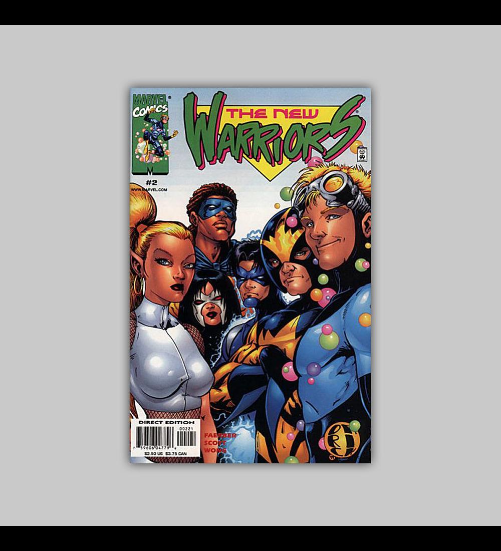 New Warriors (Vol. 2) 2 B 1999