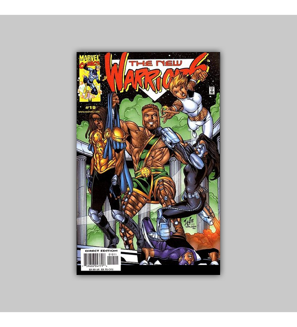 New Warriors (Vol. 2) 10 2000