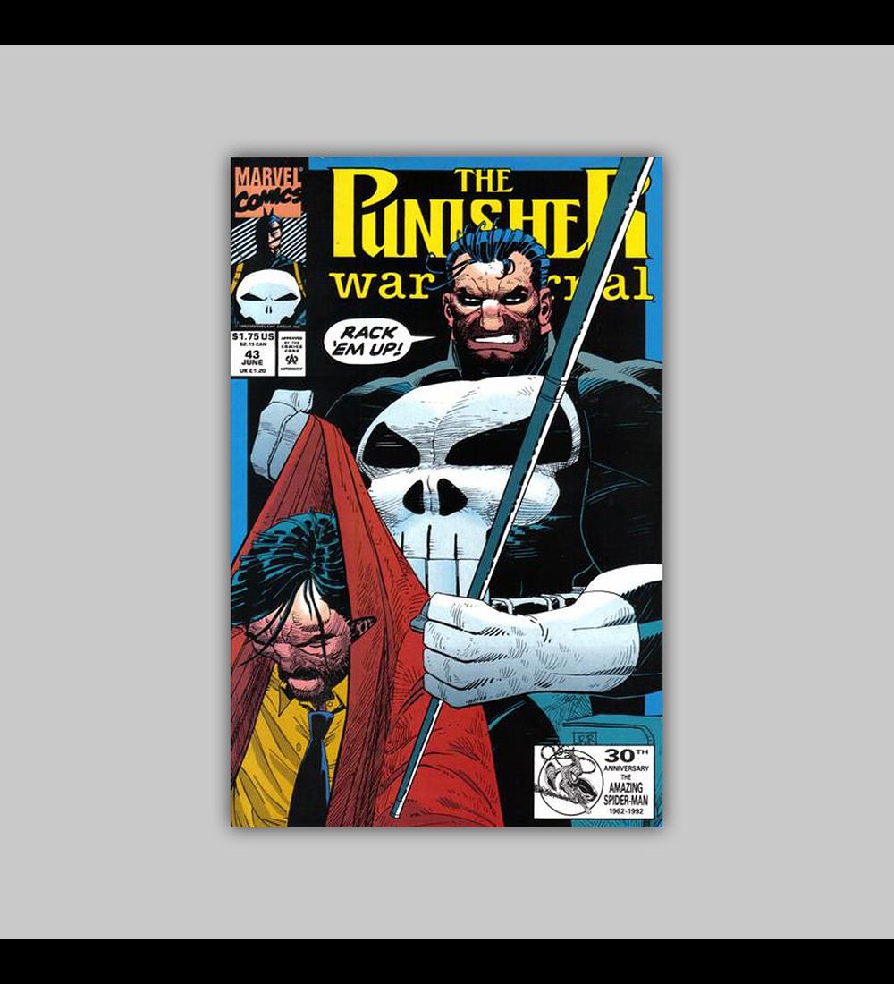 The Punisher War Journal 43 1992