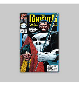 The Punisher War Journal 43 1992