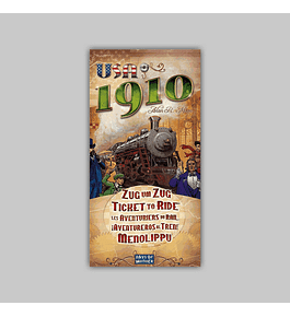 Ticket to Ride: USA - 1910 Expansion