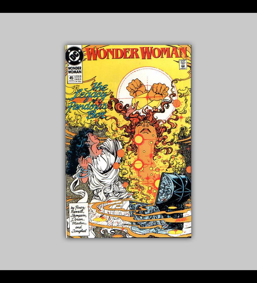 Wonder Woman (Vol. 2) 45 VF (8.0) 1990