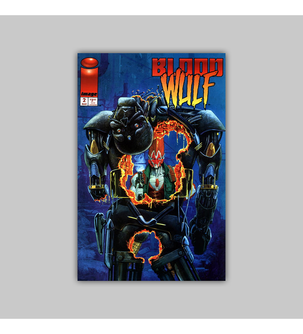 Bloodwulf (complete limited series) 1995