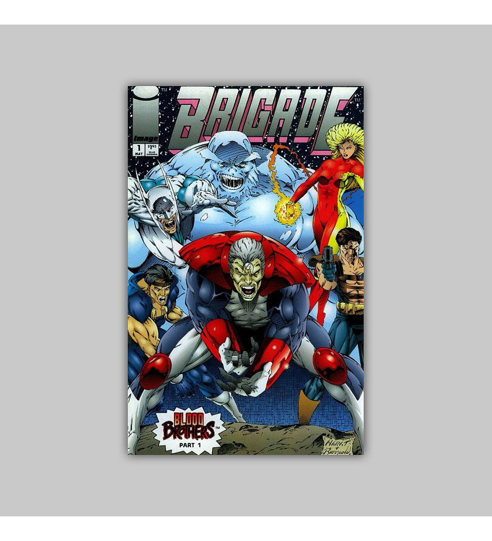 Brigade (Vol. 2) 1 1993